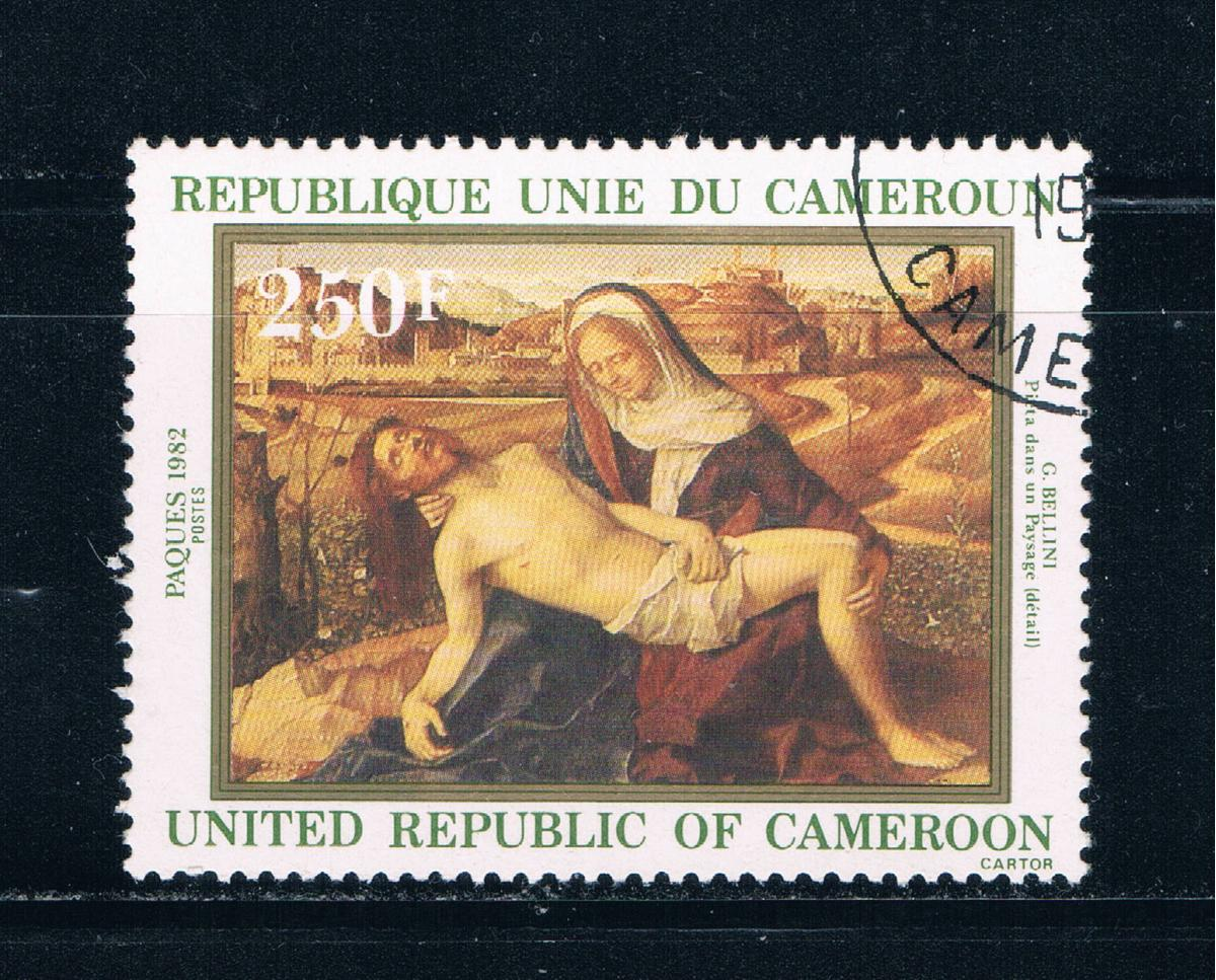 Cameroun 703 Used Painting Christ 1982 (C0204)+