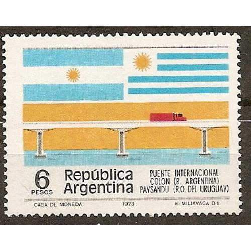 Argentina: Sc. no. 1081 (1975) MNH Single