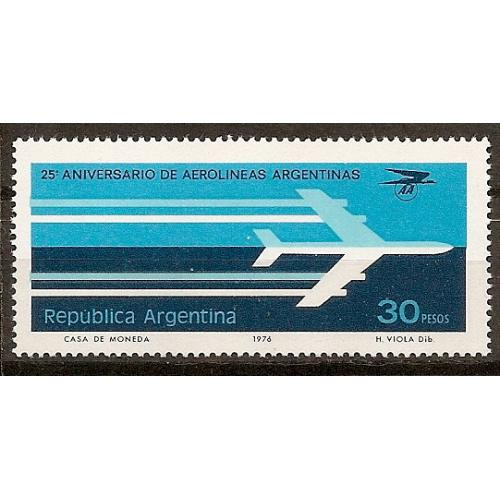 Argentina: Sc. no. 1130 (1976) MNH Single