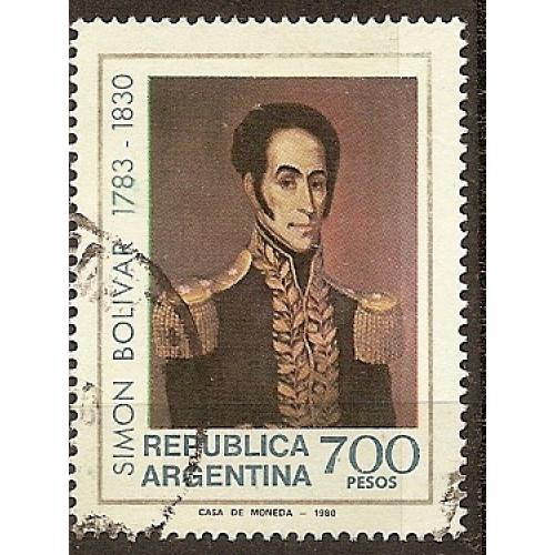 Argentina: Sc. no. 1290 (1980) Used Single