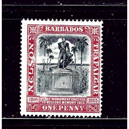 Barbados 104 MHH 1906 issue