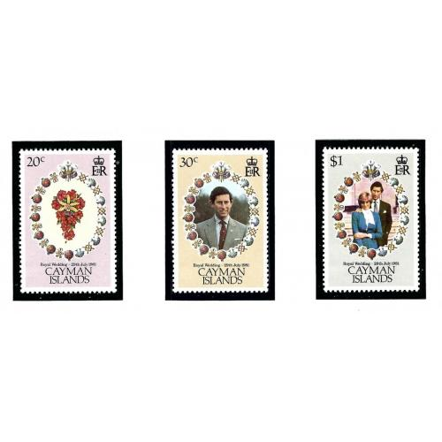 Cayman Is 471 73 MNH 1981 Prince Charles Wedding