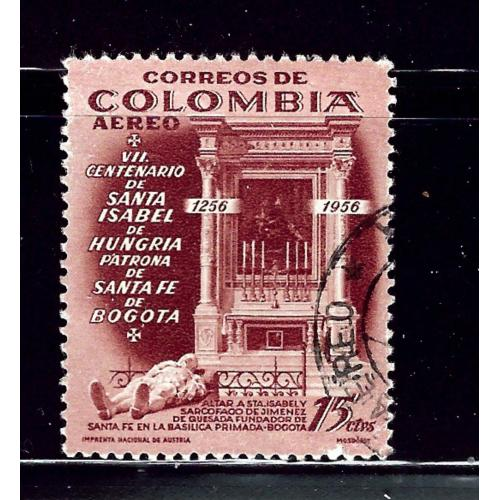 Colombia 667 Used 1956 issue  (P55)