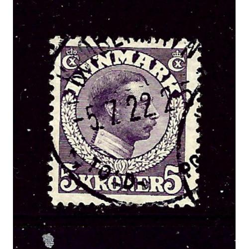 Denmark 134 Used 1920 issue