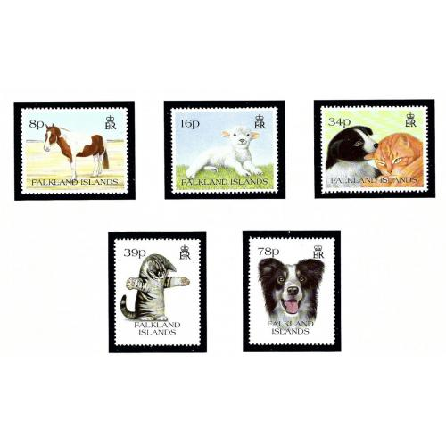 Falkland Is 588-92 MNH 1993 Pets