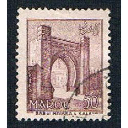 French Morocco 311 Used Mrissa Gate (BP14113)