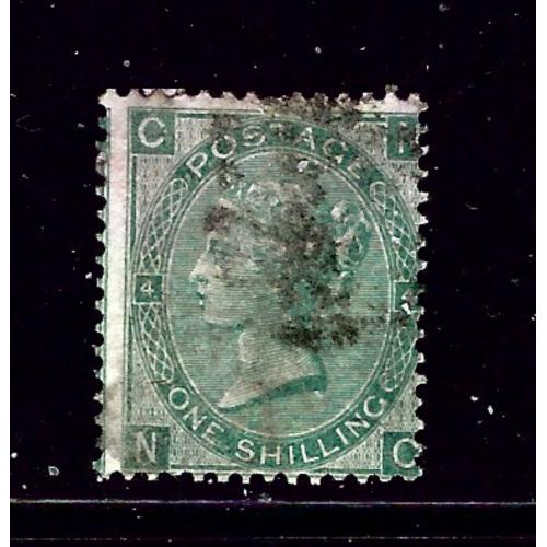 Great Britain 48 Used 1865 issue; 2019 SCV $225.00