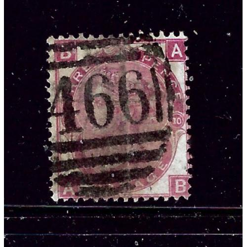 Great Britain 49 Used Plate #10 1867 issue 2019 SCV $145.00   #2