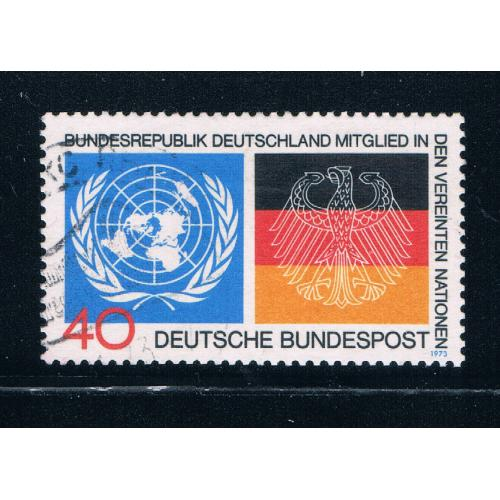 Germany 1126 Used German Flag (GI0226P38)+