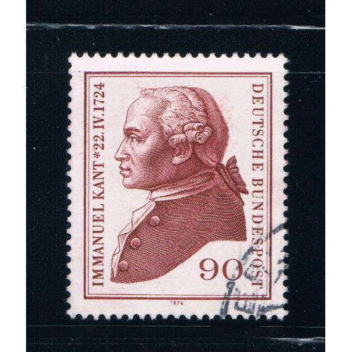 Germany 1144 Used Immanuel Kant (GI0187P26)+