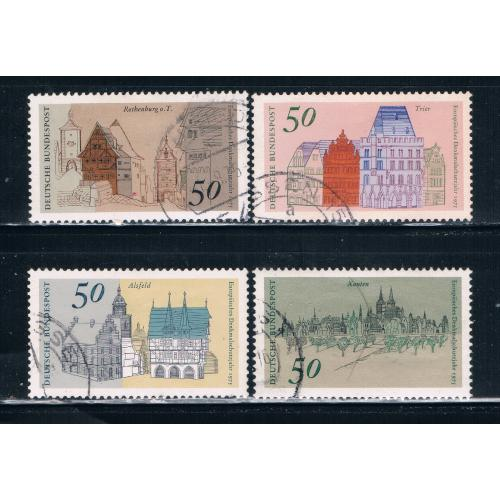 Germany 1196-99 Used set Architectual Heritage (GI0151P6)+
