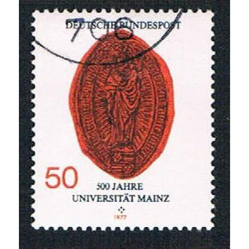 Germany 1252 Used Oldest Rectors Seal (BP17312)