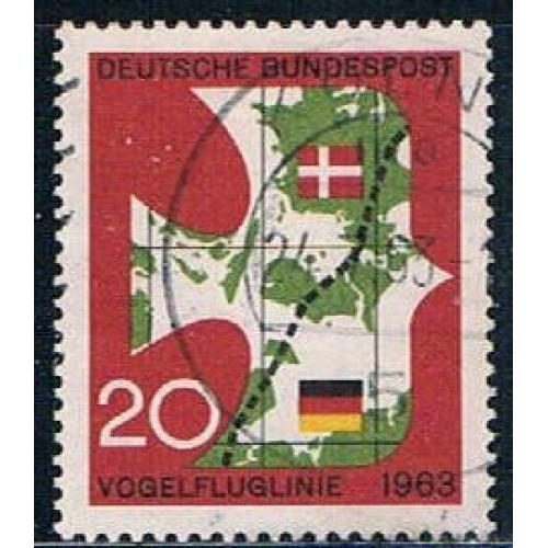 Germany 864 Used Map (GI0592P166)+