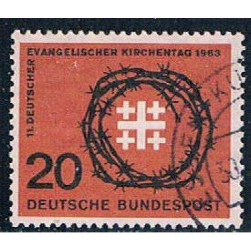Germany 866 Used Synod Emblem (GI0583P162)+