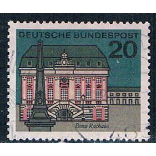 Germany 877 Used Bonn town hall (GI0540P140)+