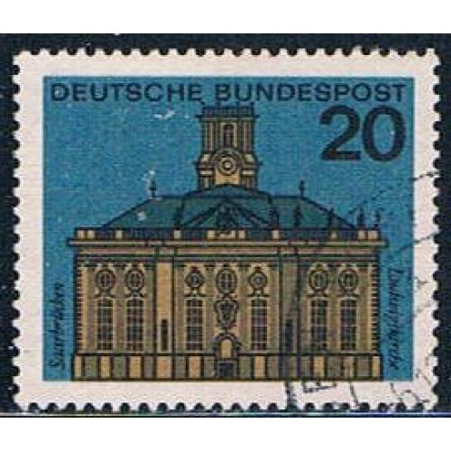 Germany 879A Used Saarbruken Capitol (GI0539P139)+