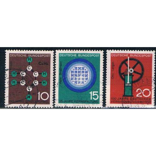Germany 892-94 Used set Progress in Science (GI0561P153)+