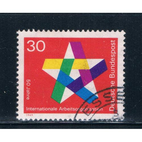 Germany 995 Used Five pointed star (GI0408P103)+