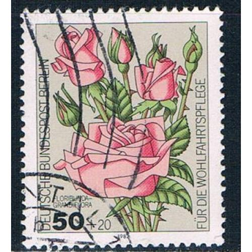 Germany 9NB193 Used Flowers 1982 (G0464)