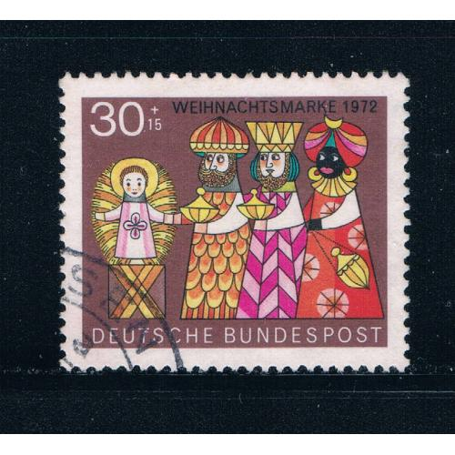 Germany B495 Used Christmas 1972 (GI0251P51)+