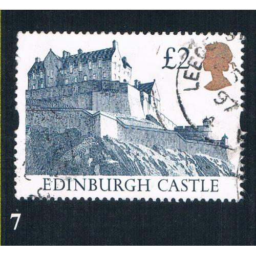 Great Britain 1447 Used Edinburgh Castle CV 1.10 (BP27)