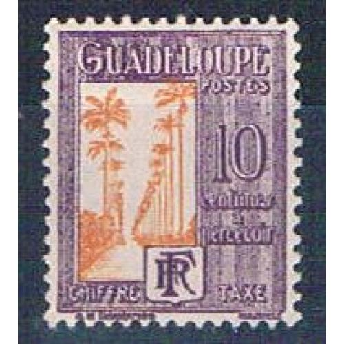 Guadeloupe J28 MLH Ave of Palms 1928 (G0355)+