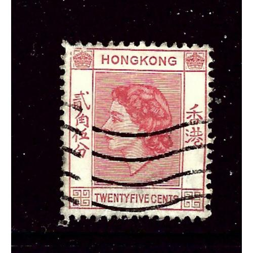Hong Kong 189 Used 1954 issue