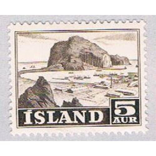 Iceland 257 MLH Rock 1950 (BP25710)