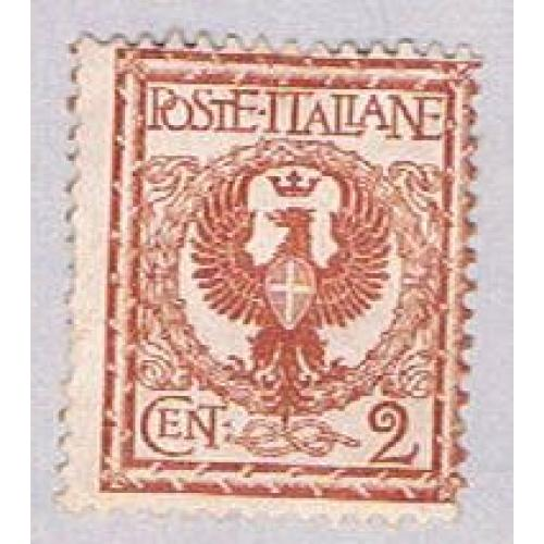 Italy 77 Used Coat of Arms 1901 (BP34917)