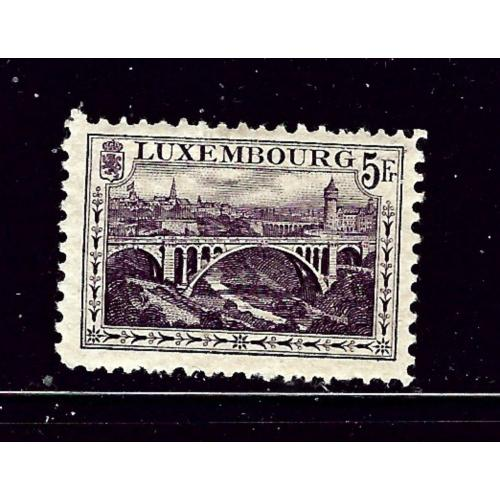 Luxemburg 130 MH 1921 issue