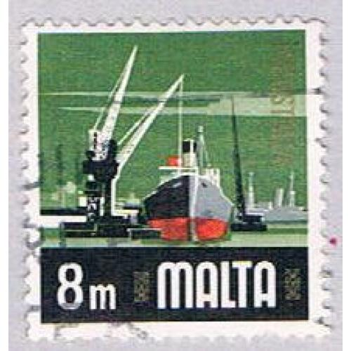 Malta 457 Used Industry 1973 (BP34519)