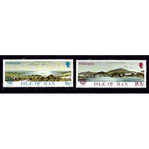 Isle of Man 99-100 NH 1977 Europa set