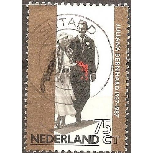 Netherlands: Sc. no. 710 (1987) Used Single