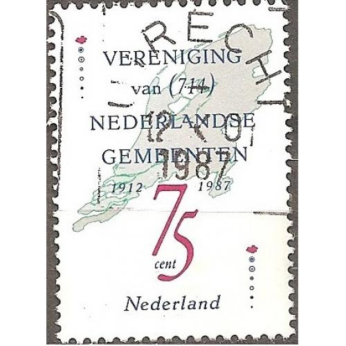 Netherlands: Sc. no. 720 (1987) Used Single