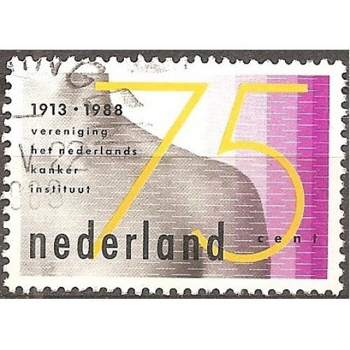 Netherlands: Sc. no. 728 (1988) Used Single