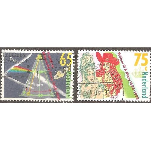 Netherlands: Sc. no. 731-732 (1988) Used Full Set
