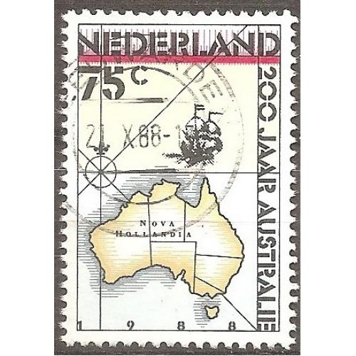 Netherlands: Sc. no. 736 (1988) Used Single