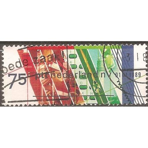 Netherlands: Sc. no. 740 (1989) Used Single
