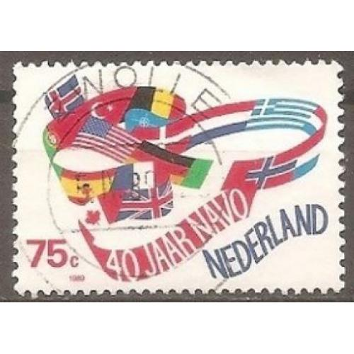 Netherlands: Sc. no. 743 (1989) Used Single