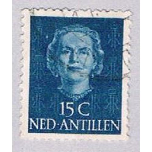 Netherlands Antilles 218 Used Queen Juliana 1950 (BP33317)