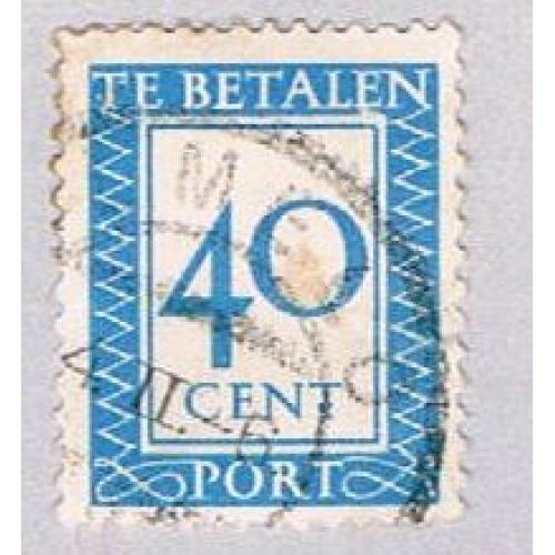 Netherlands J99 Used Numeral 1947 (BP33532)
