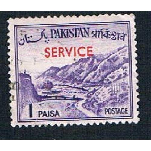 Pakistan O76 Used Khyber Pass overprint (BP307)