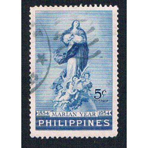Philippines 616 Used Immaculate Conception 1954 (BP26412)