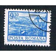 Romania 2365 Used Hydroelectric station 1972 (BP28914)