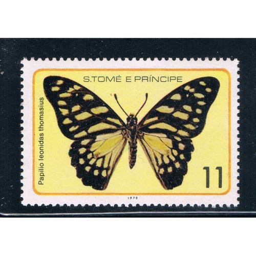 Saint Thomas and Prince Is 505c MNH Butterflys (GI0421)