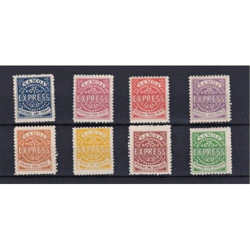 Samoa Express Stamp Set