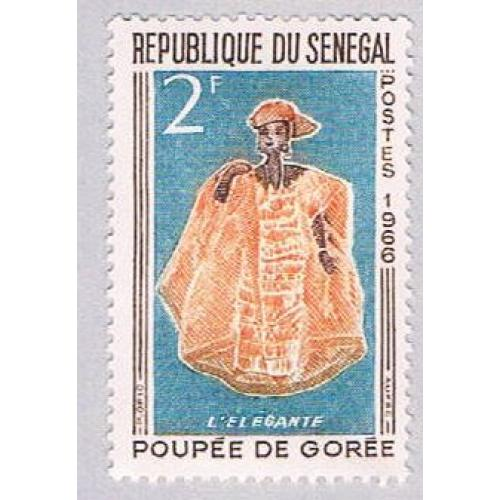 Senegal 262 MLH Elegant Woman 1966 (BP3008)