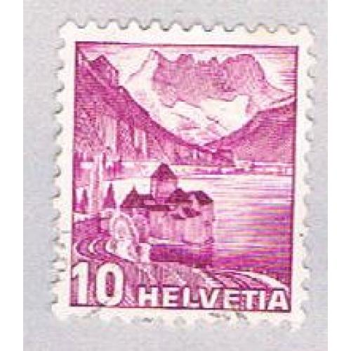 Switzerland 229 Used Chillon Castle 1960 (BP29410)