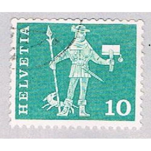 Switzerland 383 Used Messenger 1960 (BP29416)