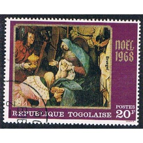Togo 662 Used Christmas 1968 (BP1224)